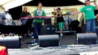 NATIVE SONS, ZIONHILL & DJ POROUFESSOR JAM IT OUT AT TAINUI GAMES 2010