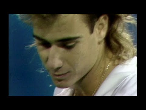 US Open Throwback: Andre Agassi Vs. Jimmy Connors