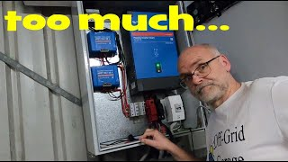 The Future of the Off-Grid-Garage! It's all complicated...