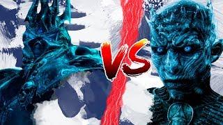КТО СИЛЬНЕЕ? КОРОЛЬ ЛИЧ vs КОРОЛЬ НОЧИ | World of Warcraft | Game of Thrones | DAMIANoNE