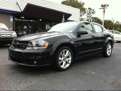 2013 dodge avenger r t at autoline preowned for sale used test drive review jacksonville youtube. Black Bedroom Furniture Sets. Home Design Ideas