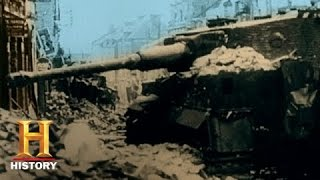 D-Day In HD: Tanks Engage In A Duel | History