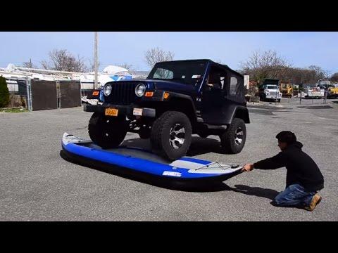 Inflatable Kayak torture test - SeaEagle.com
