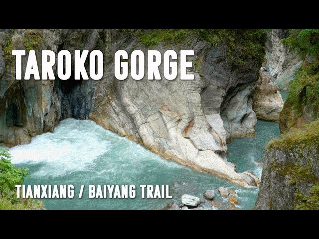 🌦️⛰️😊TAROKO GORGE -- Tianxiang & Baiyang Trail (太魯閣--天祥/白楊步道)