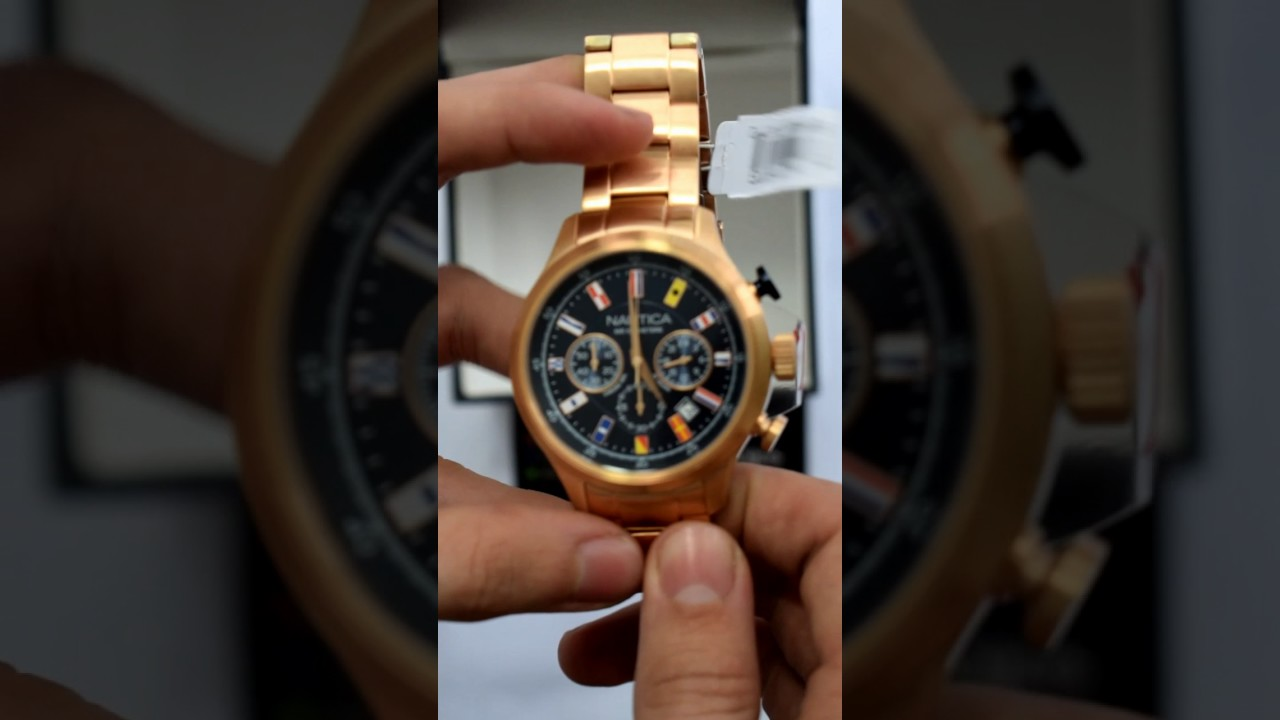 5b4ad422aedc Reloj Nautica NAI21507G para hombre - Relojes W - YouTube