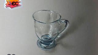 ¿Cómo dibujar vidrio? dibujo de una taza de vidrio (drawing of glass bowl)