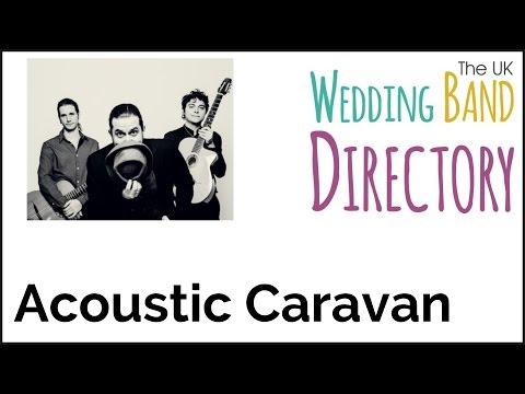 Jazz Wedding Band Hire London - Acoustic Caravan (Trio with Vocals)