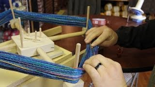 Tips on Unwinding a Skein of yarn with a Ball Winder and Swift