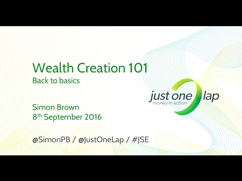 Wealth creation 101 (back to basics)