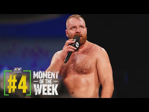 Jon Moxley Calls Out....Everyone!   AEW Dynamite, 1/20/21