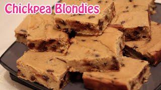 Delicious Chickpea Blondies Recipe