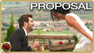 Bryan Proposes To Rachel Lindsay | The Bachelorette US