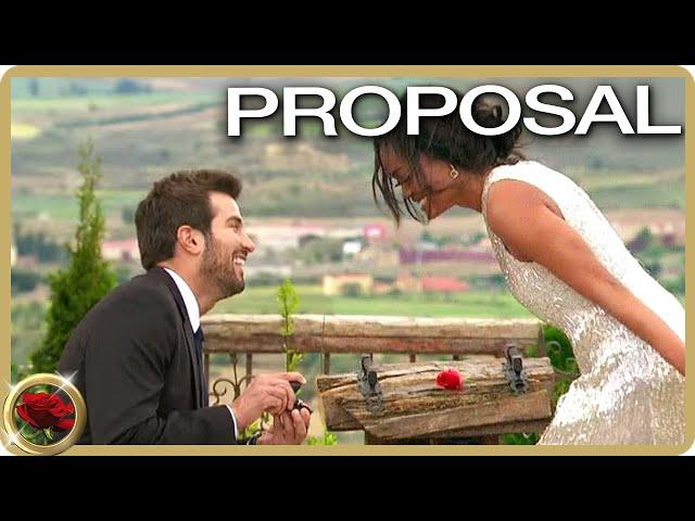Bryan Proposes To Rachel Lindsay | The Bachelorette US