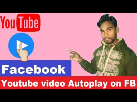 How to Autoplay youtube videos on facebook with proof
