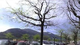 Panorama sur parking de l'hôpital de Sierre le 1er mai 2013