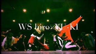DanceTribeサークルWSの中の hiro×YU-KI DaeceAeroダイジェスト.