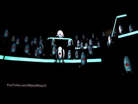 """Portal 2 - """"Финальный залп"""" турелей"""