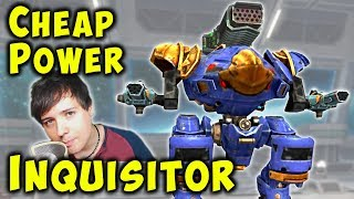 Max Power Setup: INQUISITOR Low Budget Guide - War Robots Gameplay WR