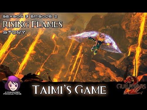★ Guild Wars 2 ★ - Rising Flames - 01 Taimi