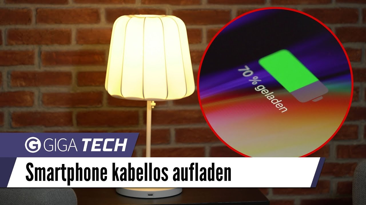 iphone 8 x und samsung galaxy s8 kabellos laden mit ikea. Black Bedroom Furniture Sets. Home Design Ideas