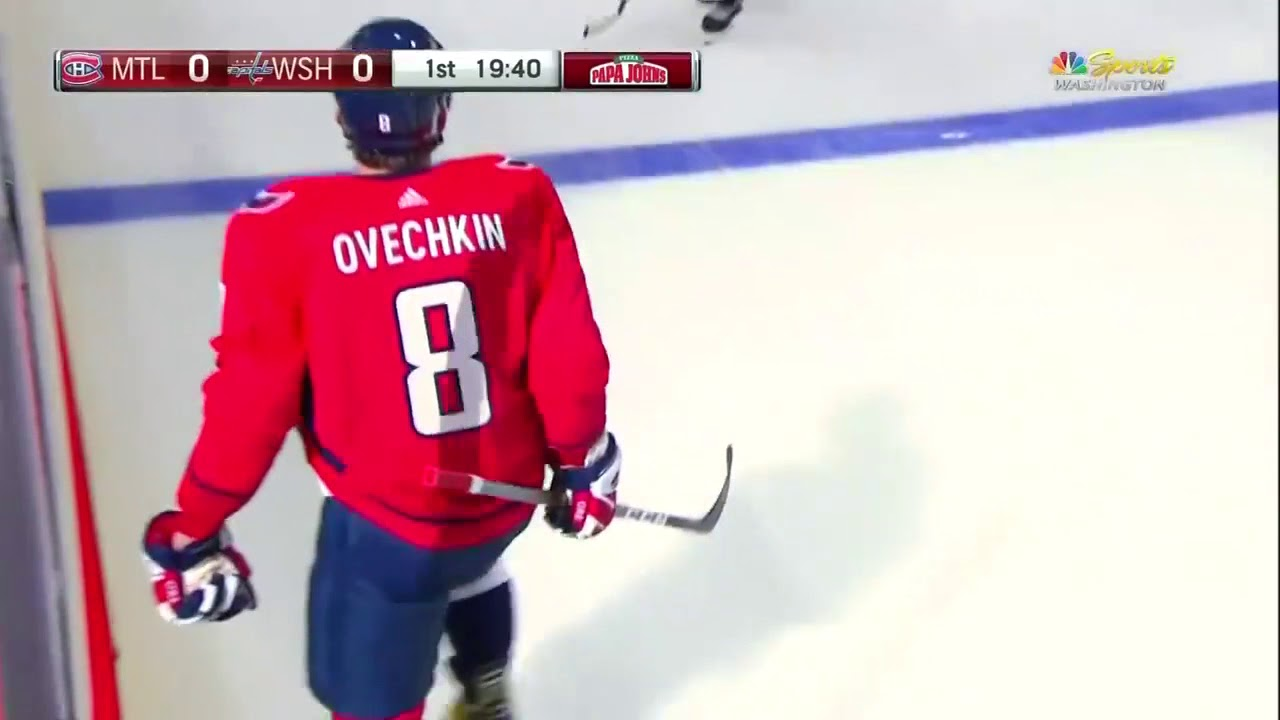 3170017c815 Alexander Ovechkin gets two hat-tricks two games in a row! 10-7-17 ...