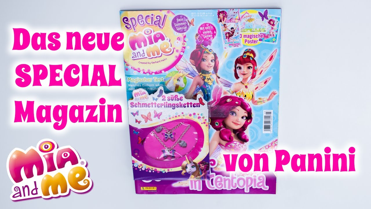 Mia and me Special Magazin Juni