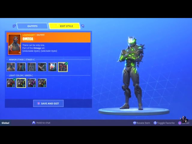HOW TO CHANGE THE COLOR OF YOUR OMEGA AND CARBIDE SKIN!!! (Fortnite Battle Royale)