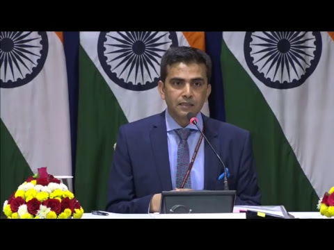 Weekly Media Briefing by Official Spokesperson (December 08, 2017)