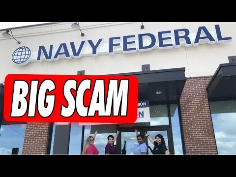 Is The Navy Federal Credit Union A  Scam