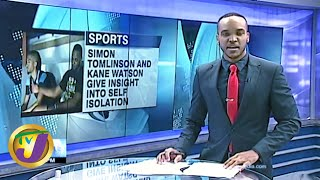 Jamaica's Top 2 Table Tennis Players in Self Isolation: TVJ News - March 16 2020
