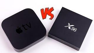 ANDROID TV BOX X96 С ALIEXPRESS VS APPLE TV 3. ОБЗОР И ОПЫТ ИСПОЛЬЗОВАНИЯ ПРИСТАВОК
