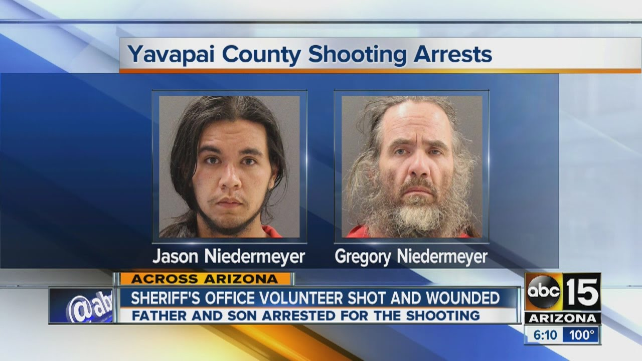 Yavapai County Sheriff's volunteer shot and wounded