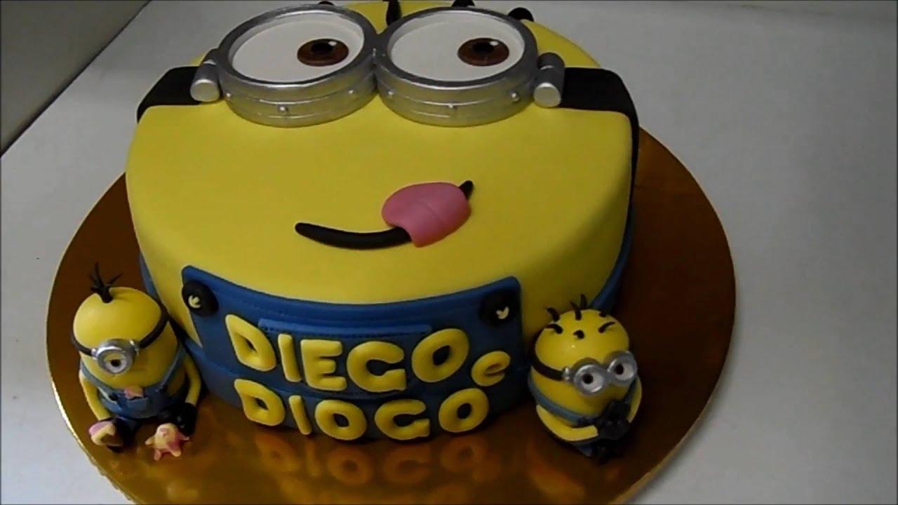 Excepcional Bolo Minions (Minion's Cake) - YouTube TP54