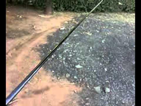17b995954 Vara Fibra de carbono 99%.avi - YouTube