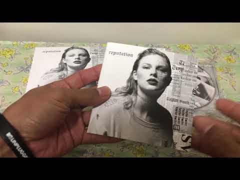 Taylor Swift Reputation - Japan Special Edition Unboxing