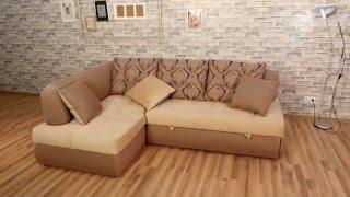 Угловой диван «Бриз» с оттоманкой(Квартира студия или большая гостиная просто созданы для дивана серии «Бриз». Потрясающая вместимость угло..., 2016-03-02T13:31:02.000Z)