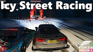 Forza Horizon 4: Let's Play! Audi RS7 Icy Street Racing!