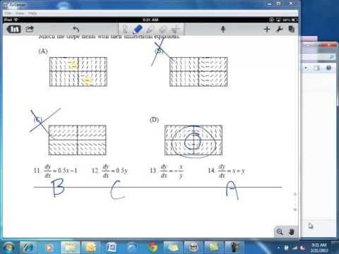 AP Calculus AB 6.1-6.2