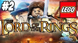 lego lord of the rings 2 gandalf vs saruman