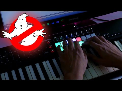 Ghostbusters Theme Cover - Launchkey Live Performance - Ableton Live Loop