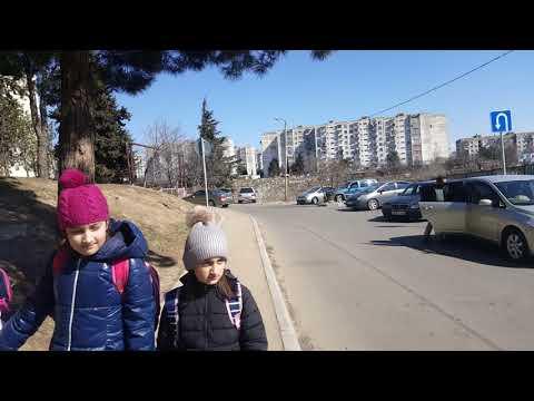 Tbilisi 3.04.2019. Varketili (Shandor Petephi street) - metro Varketili. ვარკეთილი. Варкетили