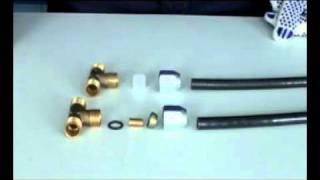 видео Разъем 90 с быстроразъемным соединением (пр-во Wabco) 8938311770