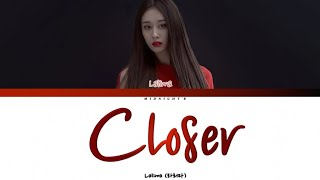 LA LIMA (라리마)_JIYEON - 'Closer' Lyrics 가사 ( Han/Rom/Eng)