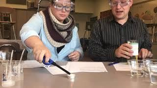 Lab Identifying Liquids