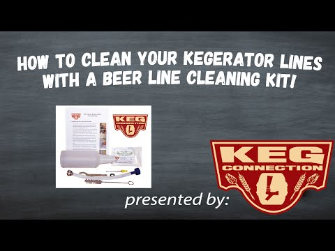 How to Clean Your Kegerator's Beer Lines!