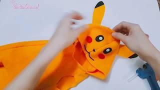 May Áo Pikachu Cнo Thú Cưng Siêu Cute