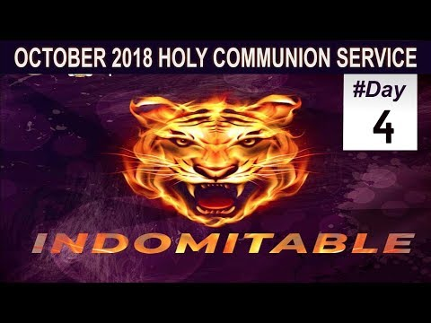 RCCG October 2018 HOLY COMMUNION SERVICE