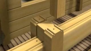 видео Лифт регулировочный по высоте. Срубы и деревянные дома из бруса
