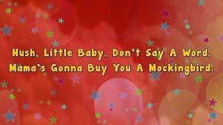 Karaoke - Hush little baby   Karaoke Rhymes
