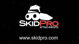 Skid Pro Skid Steer V Snow Blade